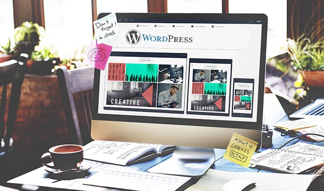 Wordpress site με 1 κλικ!