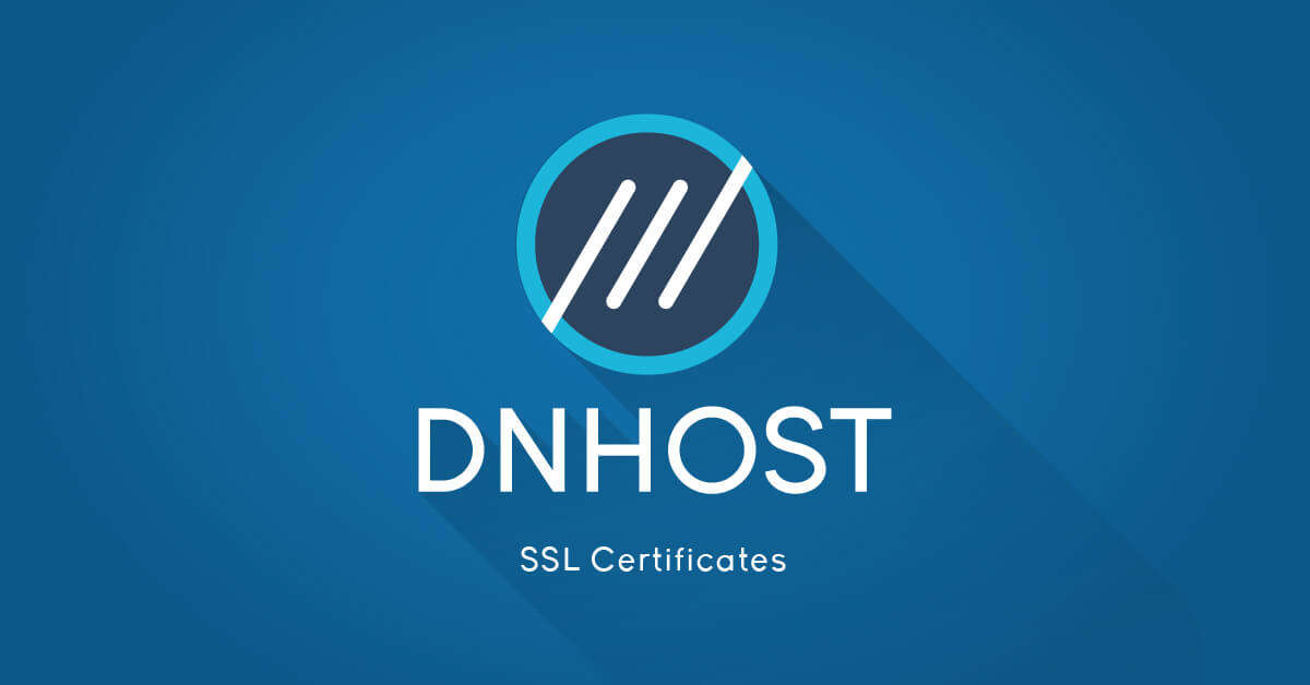 Ssl Certificates Dnhost